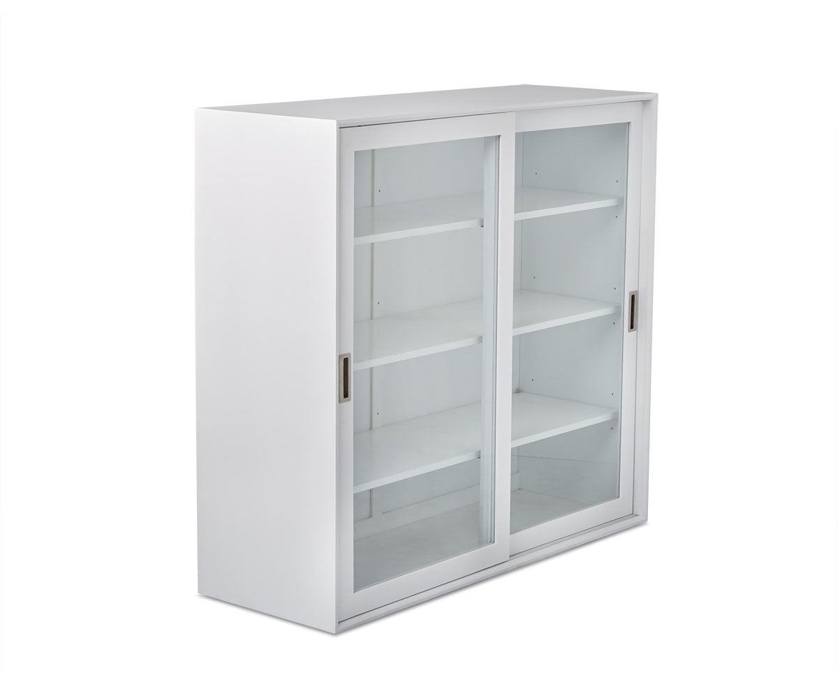 "Lasse 48""H Glass Cabinet"