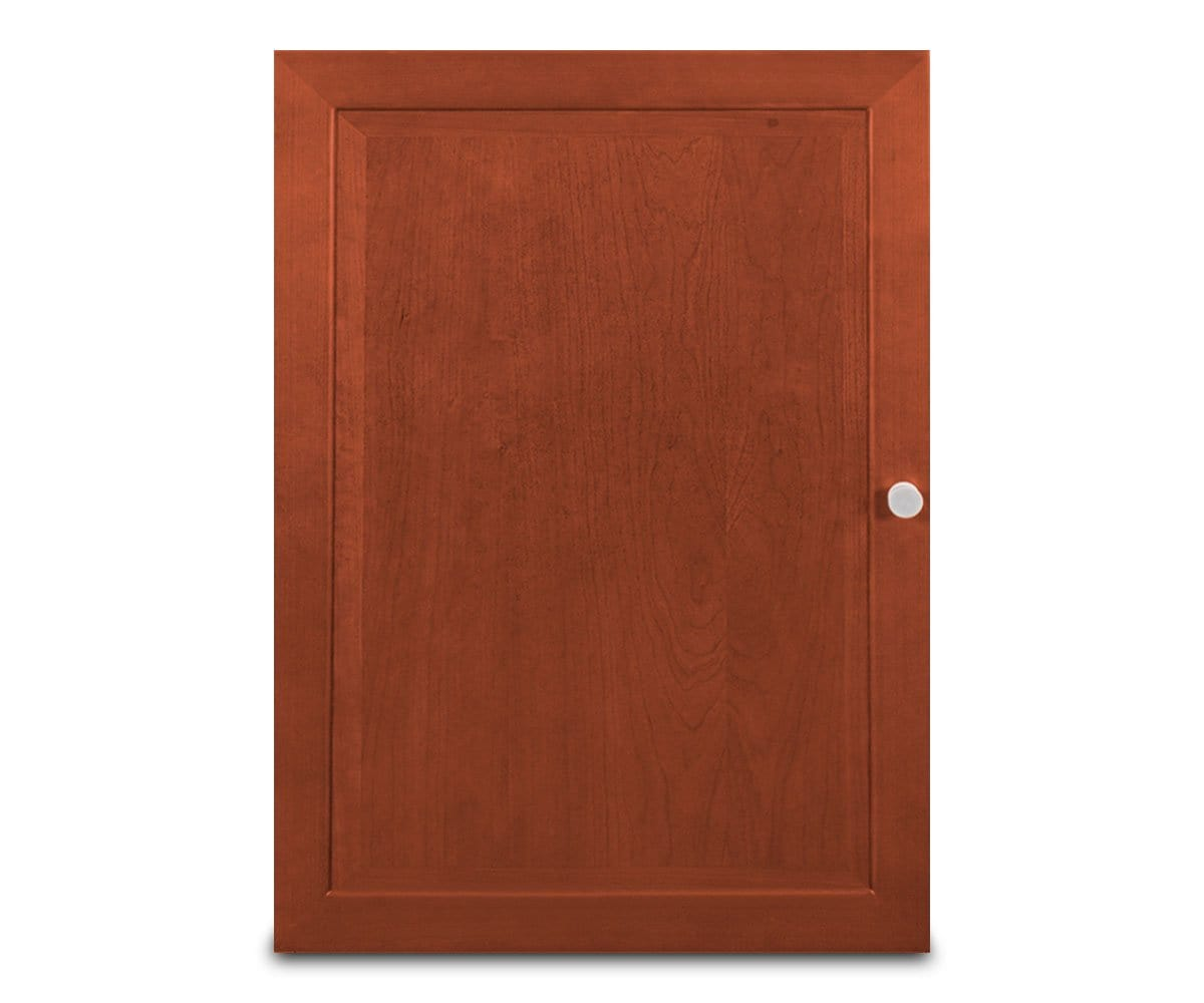 Wood cabinet door addition