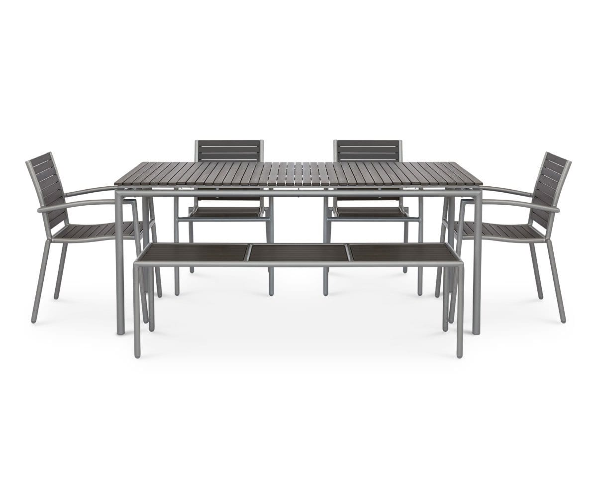 weather resistant outdoor dining table