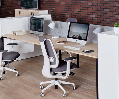 "Jensen 63"" Four Desk"
