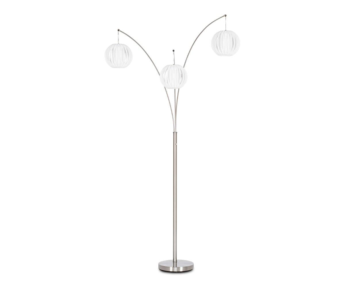 Deion 3-Lite Arch Lamp