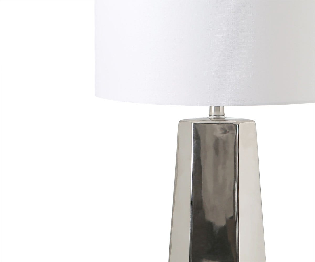 Skyldr Table Lamp - Silver