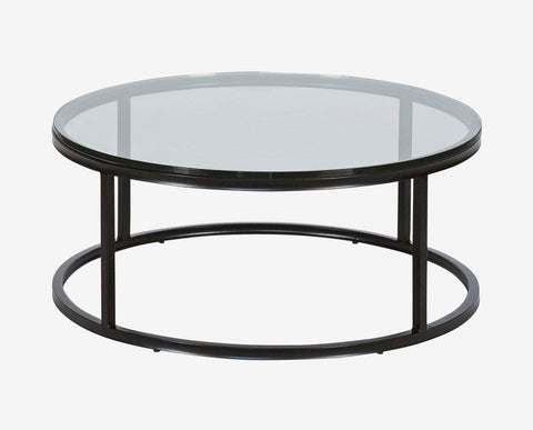 Parsons Round Coffee Table