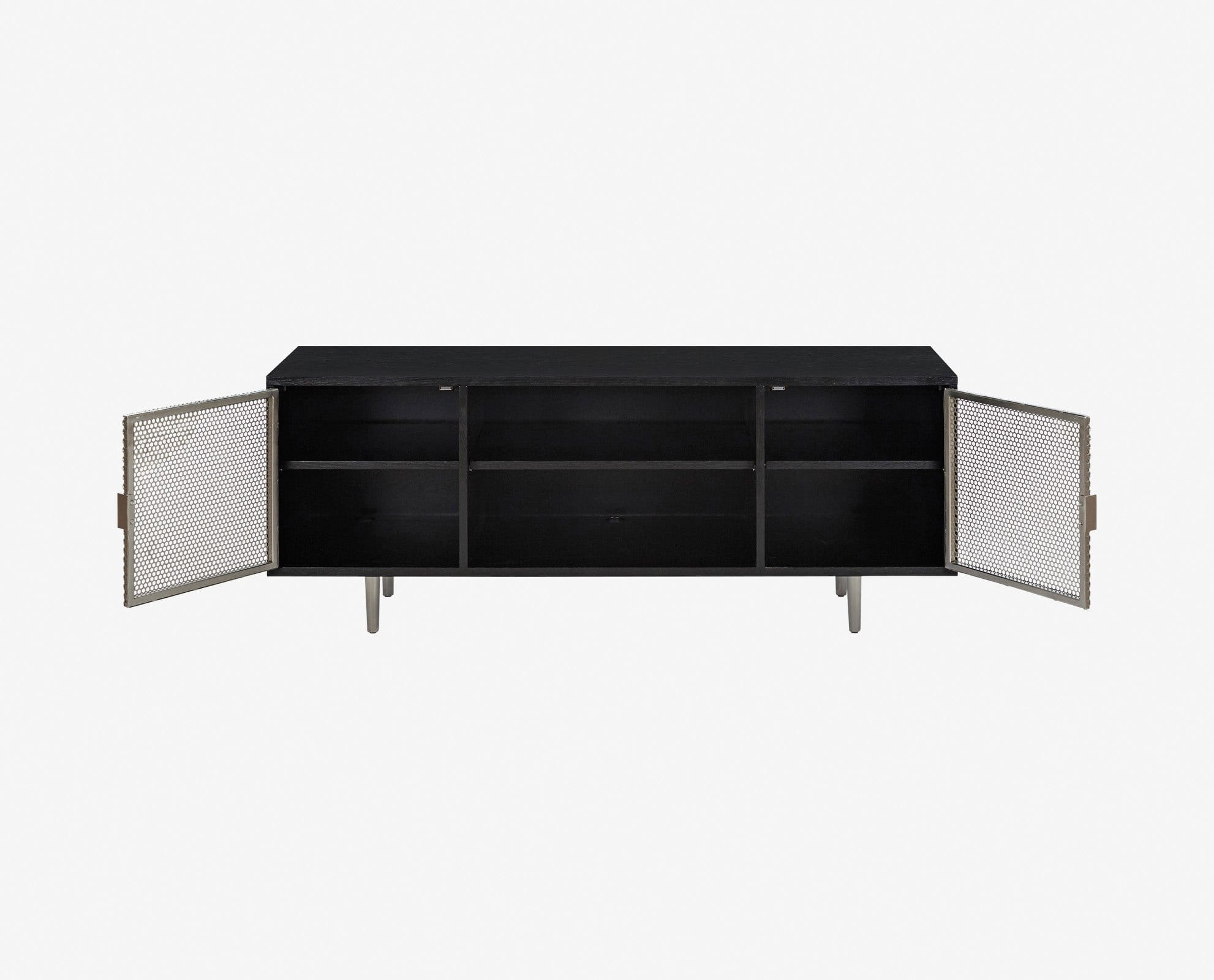 Modern living decorative storage console
