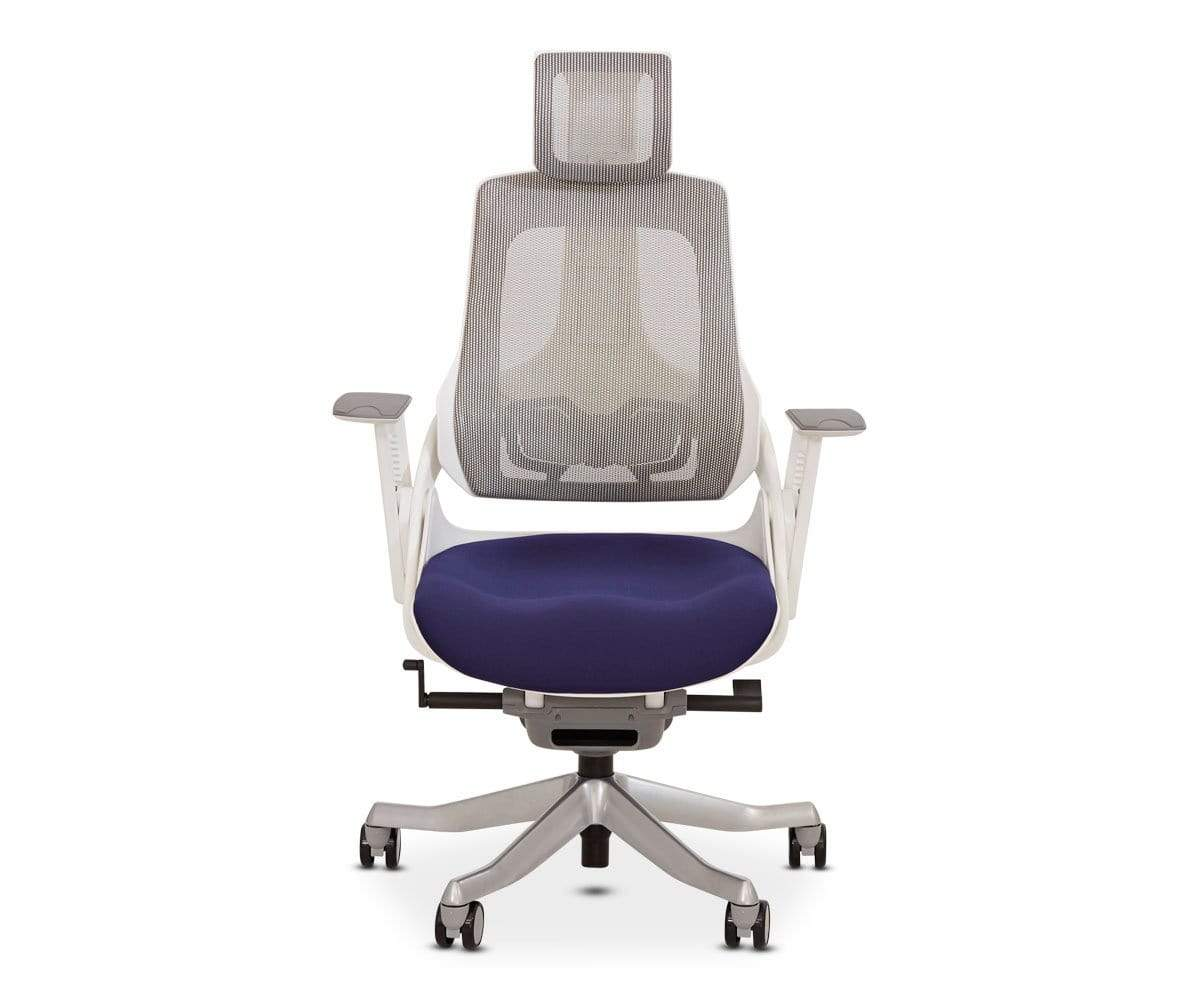 Wau Desk Chair   Blue