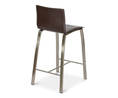 Jelena Counter Stool - Brown