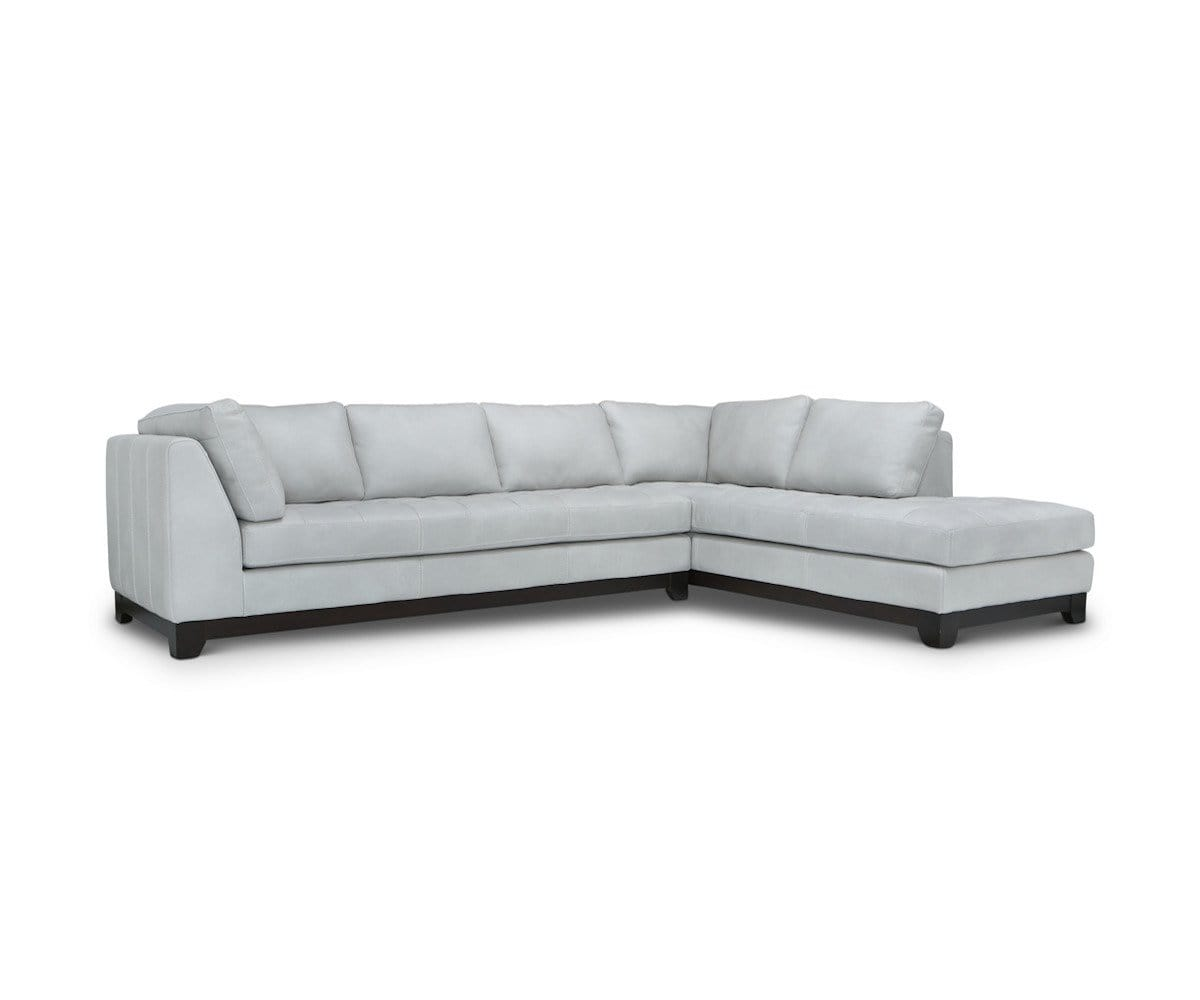 Evelina Leather Sectional