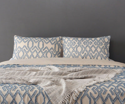 Troym Duvet Cover + Shams Set