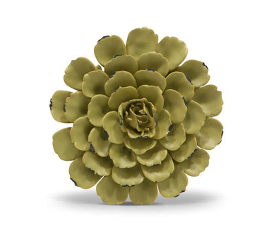 Flower Ceramic Decoration - Light Green