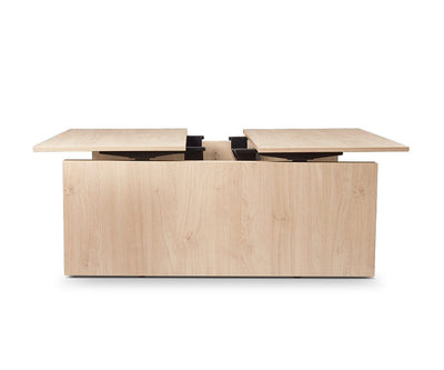 Jensen Double Sit Stand Desk with Panels