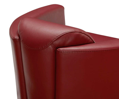 Cicola Leather Accent Chair