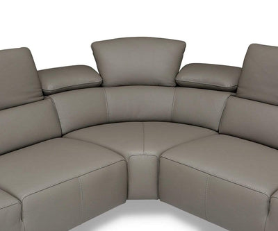 Abella Leather Sectional