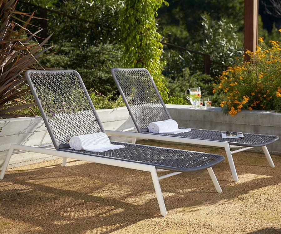 Inula Lounger - Grey
