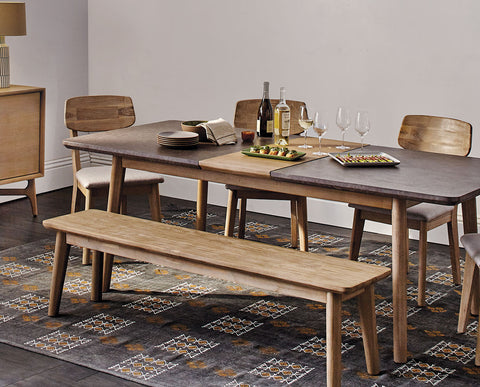 chairs oak bench dining with stunning small dark seating country finish and cushioned table big a set veneer sets style birch room