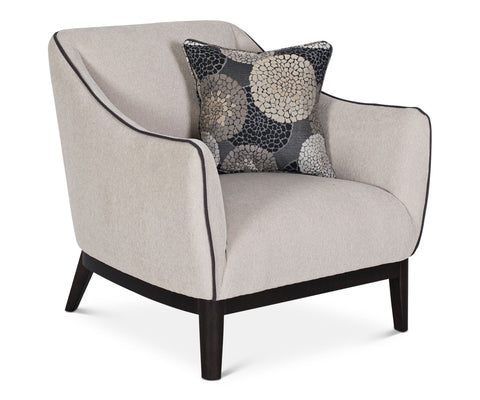 Contemporary style upholstered chair