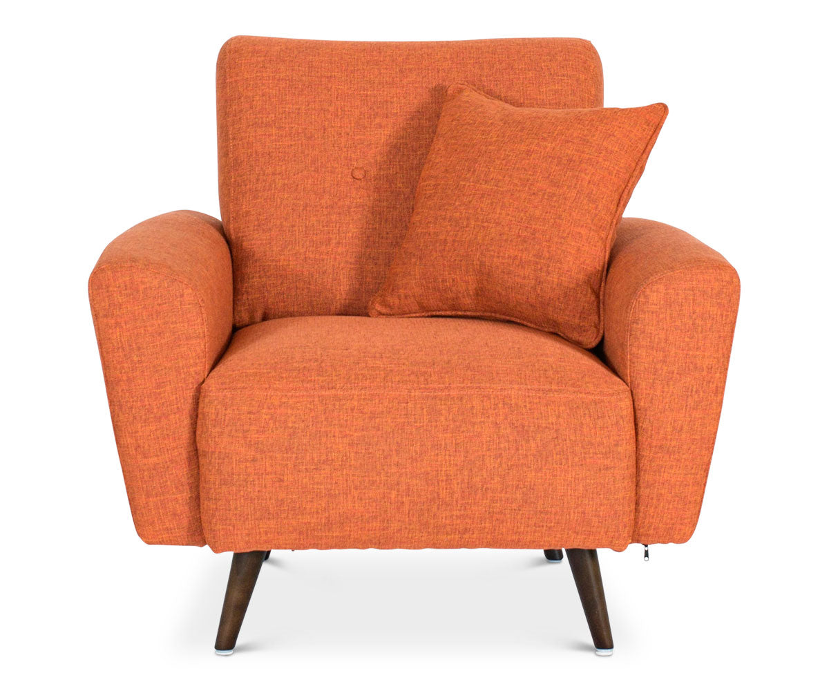 Setosa Chair   Orange