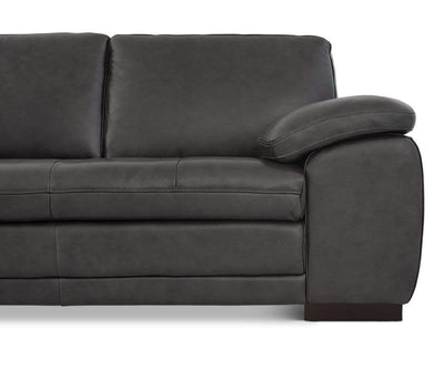 Cercis Leather Left Sectional