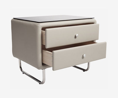 Lukko Nightstand - Light Grey