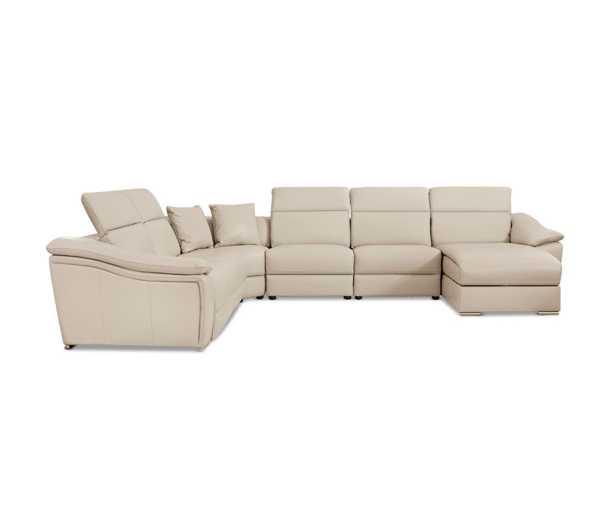 Maxino Power Motion Right Sectional - Silver