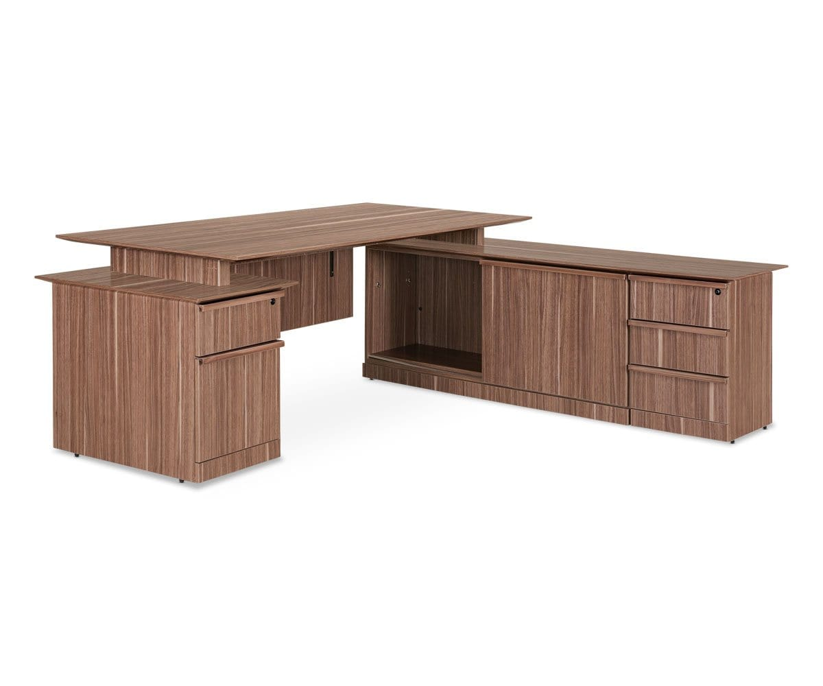 Avoz Executive Desk Set Dania Furniture