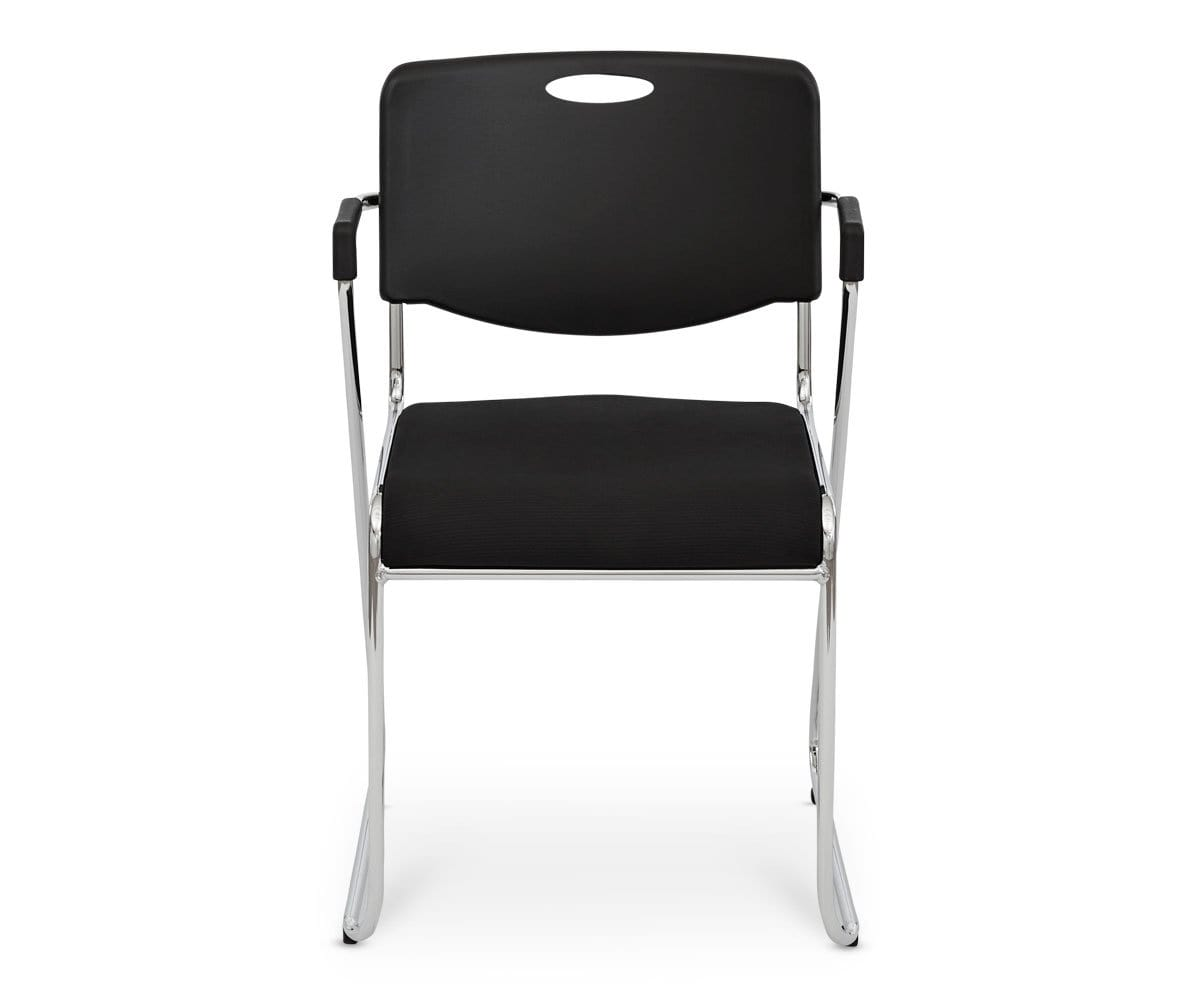 Enok Stacking Chair - Black