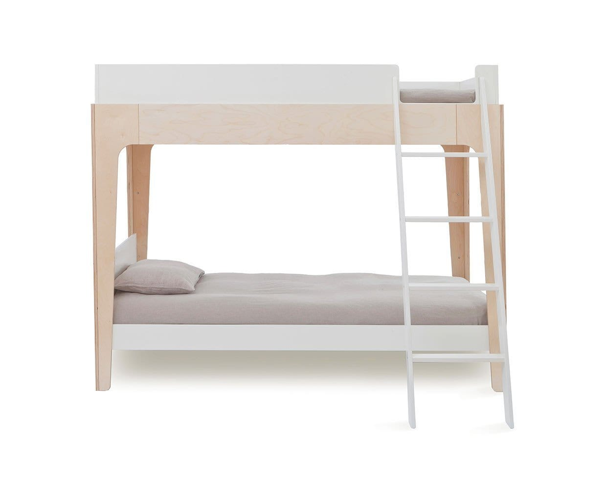 Perch Twin Bunk Bed Birch Dania Furniture