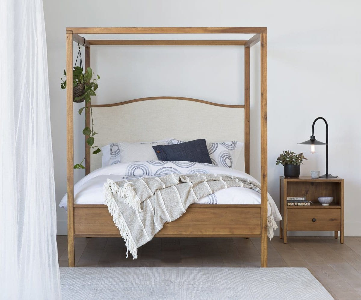 Petra Canopy Bed – Dania Furniture