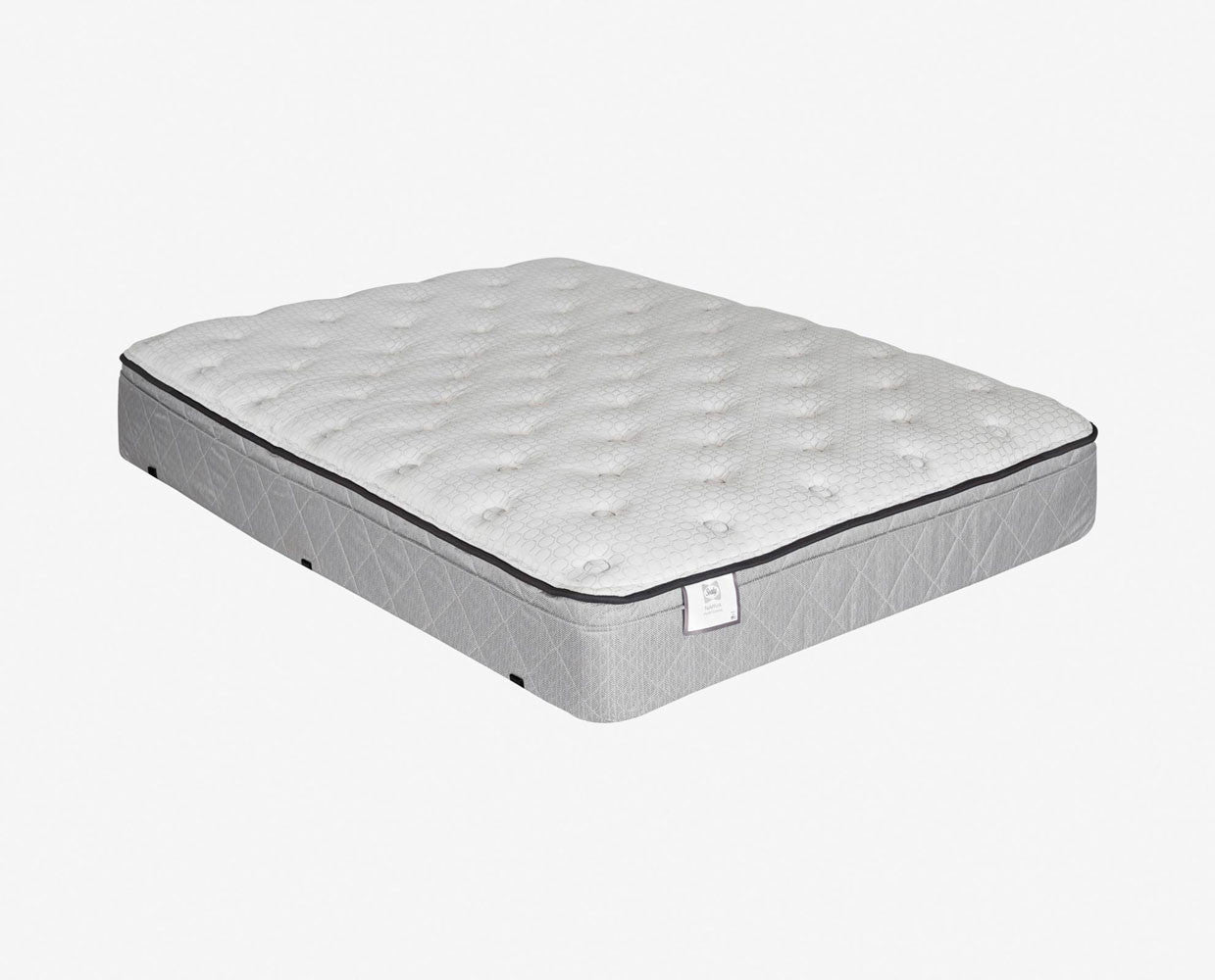 Plush supportive mattress