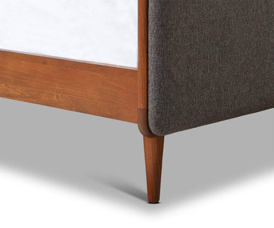 Holfred Bed GREY / Queen - Scandinavian Designs
