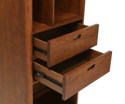 Holfred Narrow Bookcase