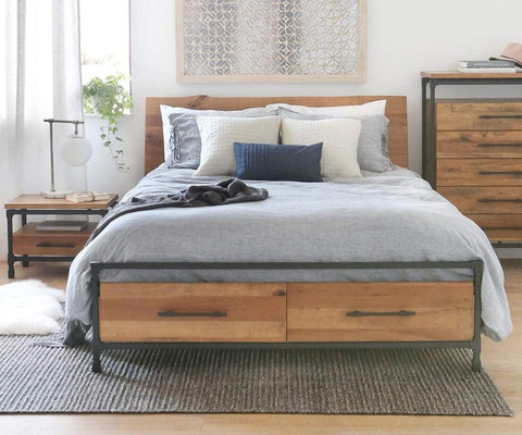 Karsten Storage Bed