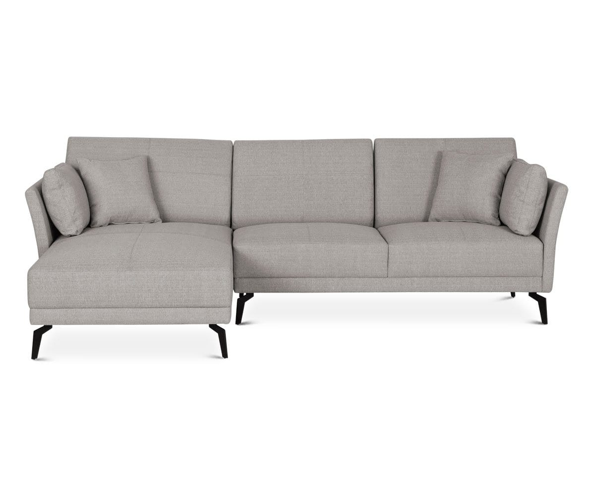 inspiredhomeco facing sofa products sectional grey velvet giovanni chaise left storage with