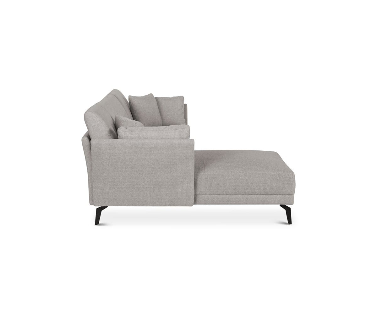 Classic contemporary Scandinavian chaise sectional