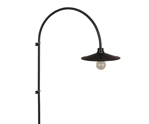 Skal Arch Wall Lamp - Black