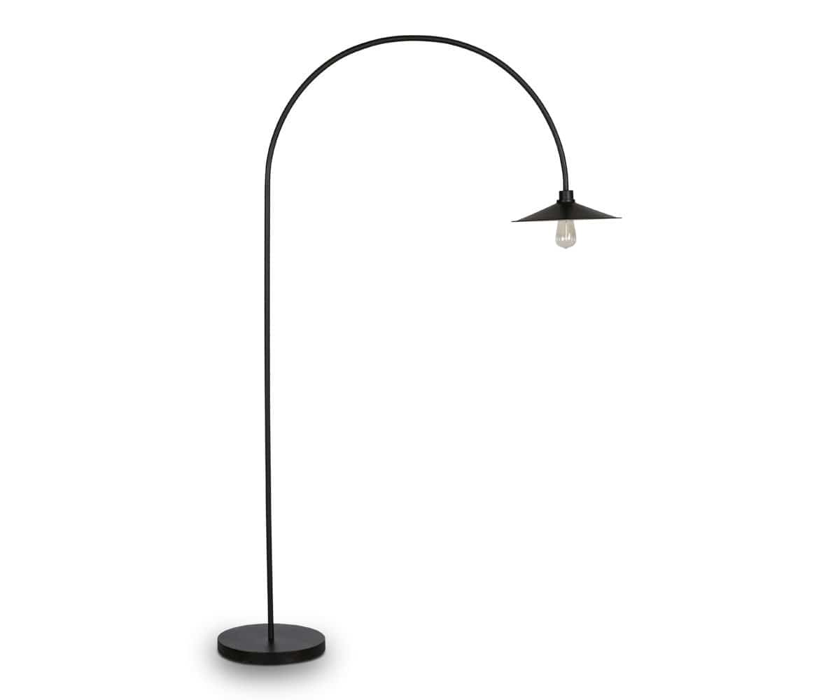 Skal Arch Floor Lamp - Black