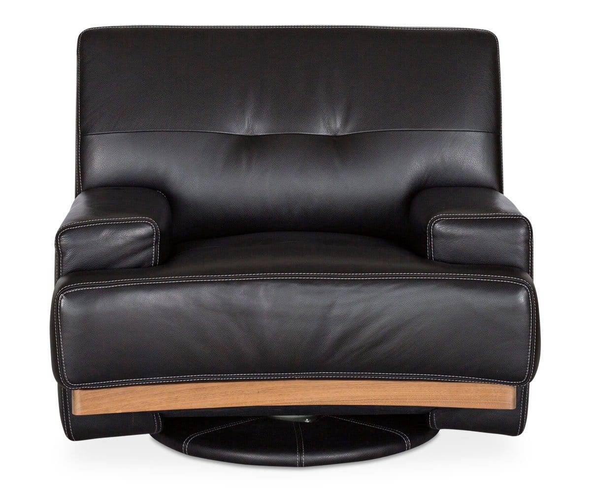 Julian Swivel Chair - Black