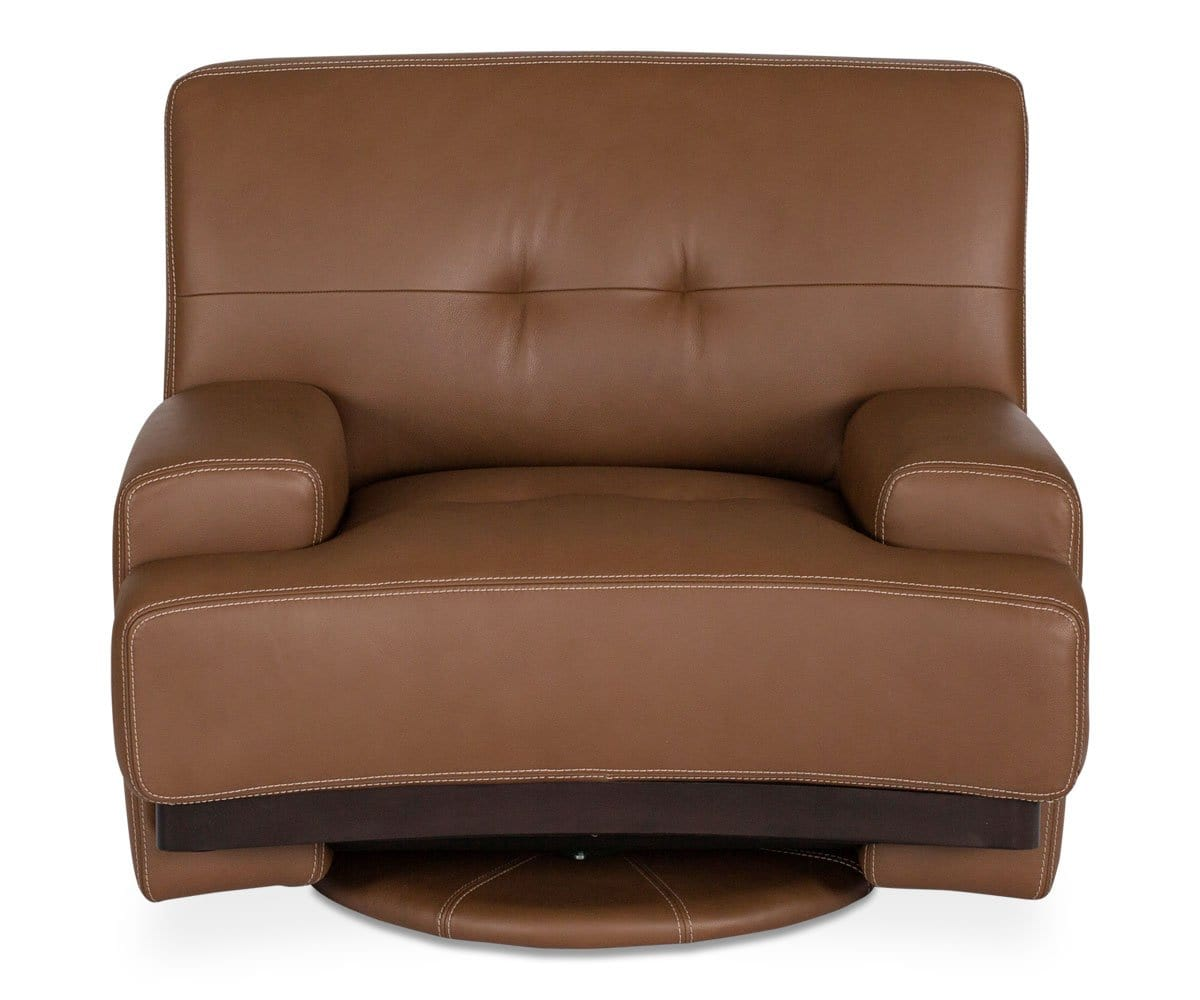 Julian Swivel Chair - Brown