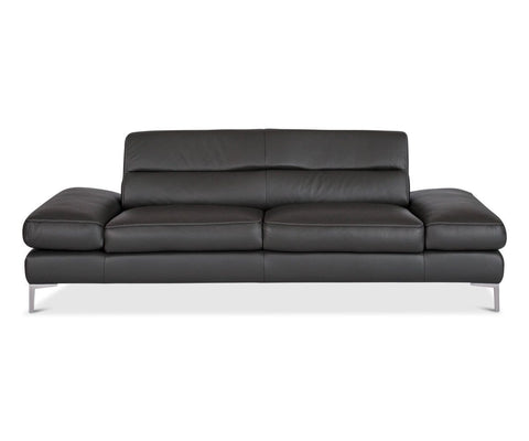 Campsis Leather Sofa  Anthracite
