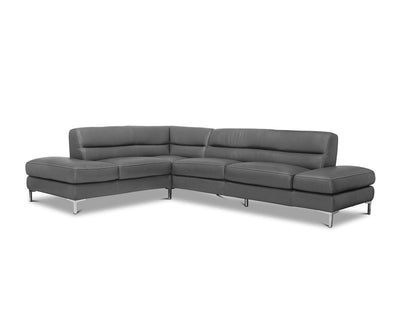 Campsis Leather Left Sectional
