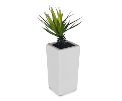 Tall Potted Faux Palm