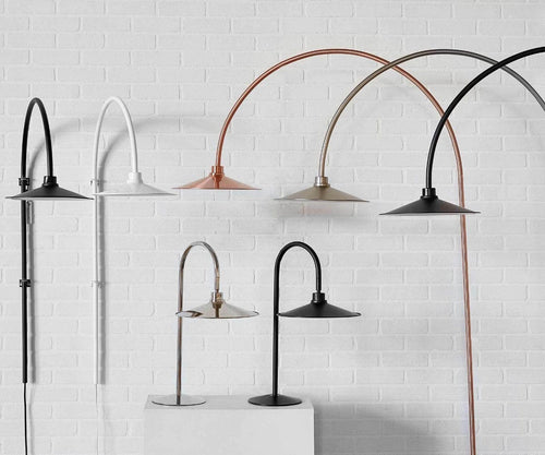 Skal Arch Floor Lamp - Copper