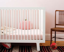 Sparrow Crib - White