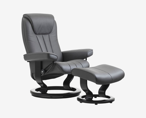 Stressless® Bliss Recliner & Ottoman
