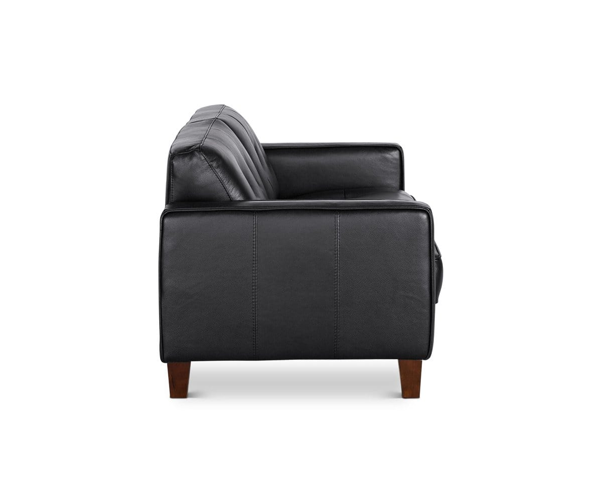 modern tobia leather b for bb by seating scarpa master coronado loveseat product italia my