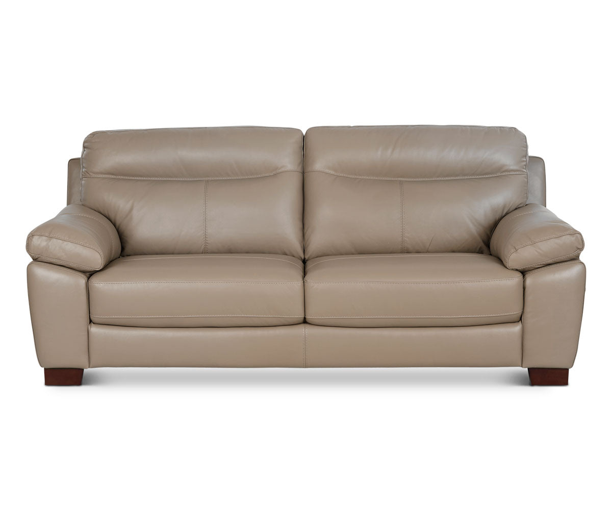 Attractive Viggo Leather Sofa