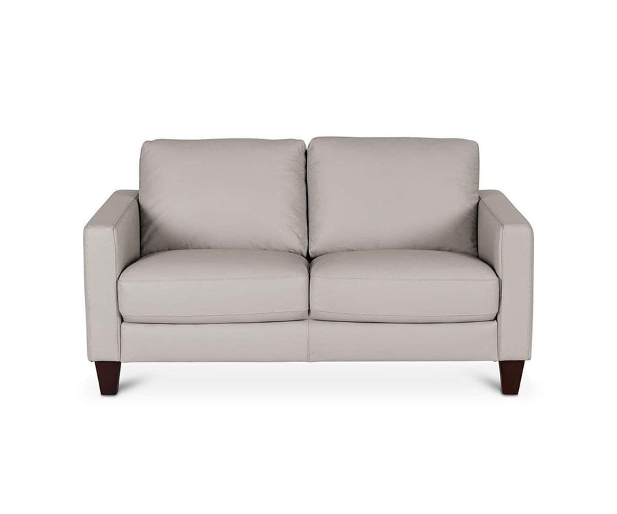 Pavel Leather Loveseat