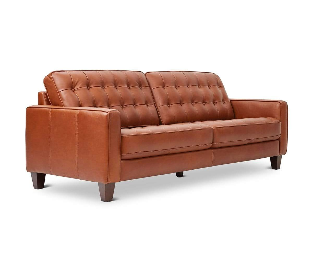 Gustav Leather Sofa – Dania Furniture