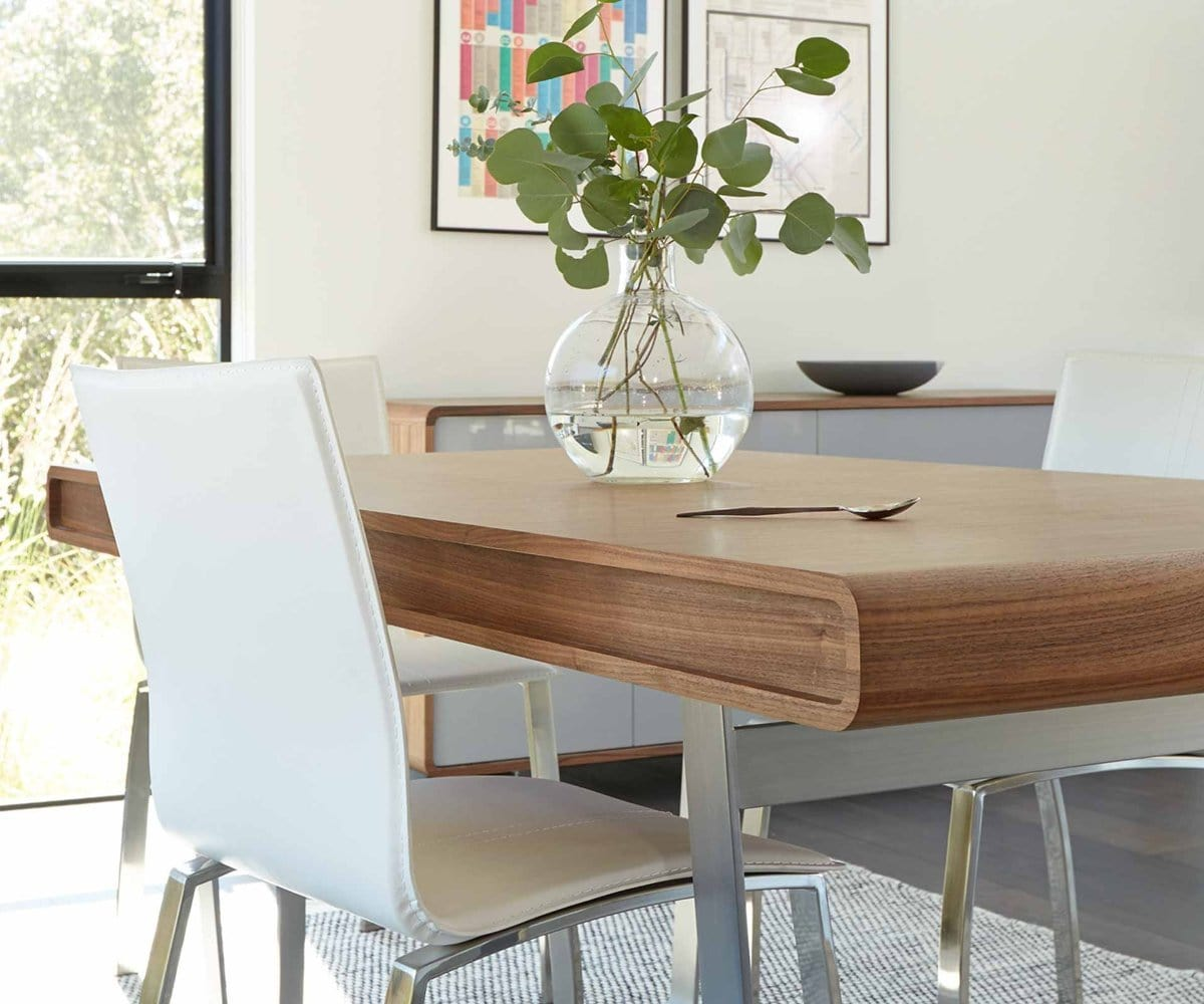 Baptisia Dining Table Walnut Dania Furniture