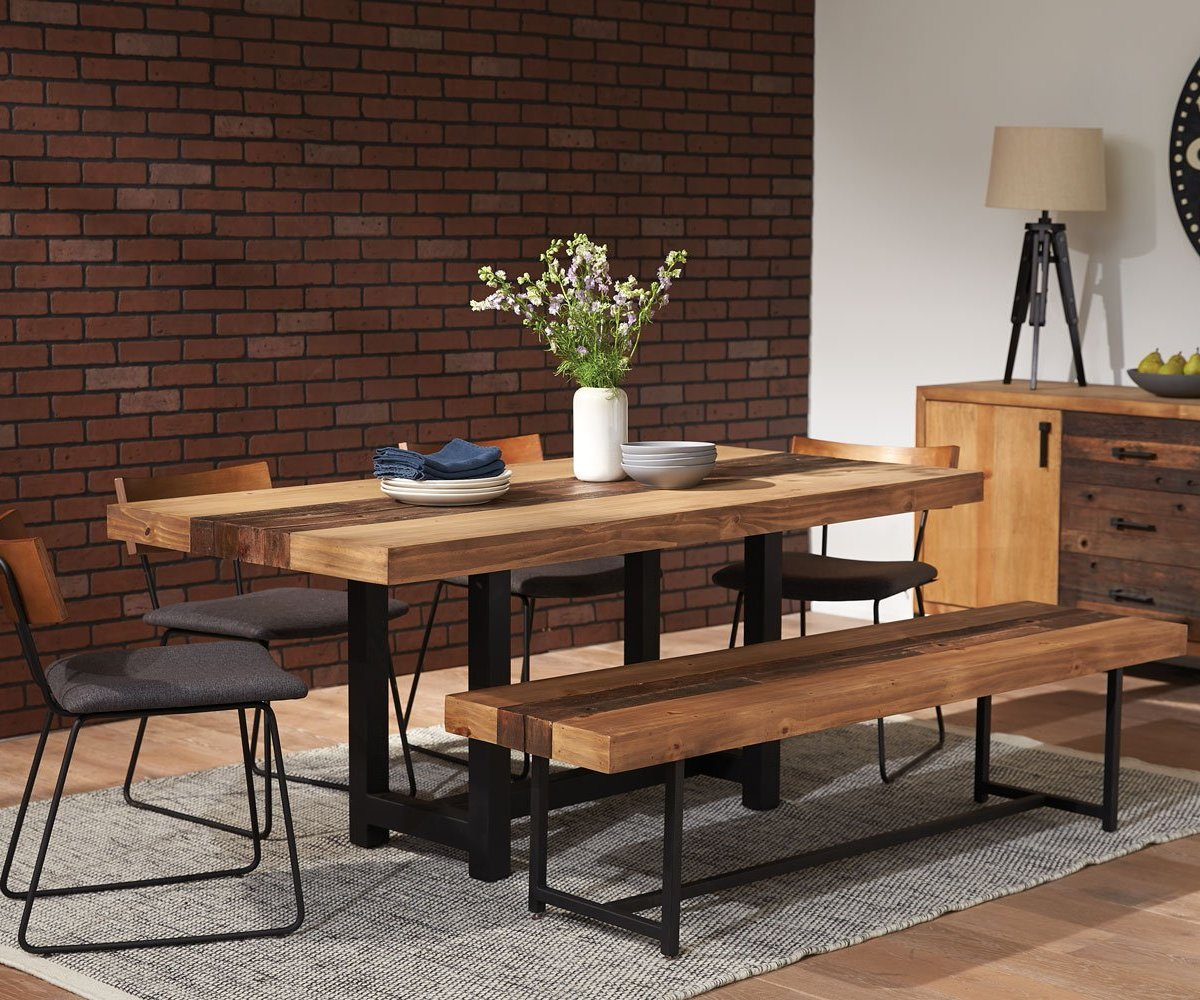 with tables collection dining sets image adams collections room furniture bench