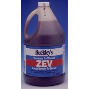 Buckley's ZEV Horse Supply Cough Remedy supports a horse's respiratory system.